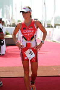 "New, healthier role models: Caroline Steffen aka ""Xena"", 2nd fastest female Ironman athlete in the world.  Machine."