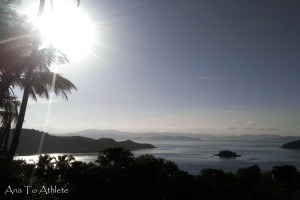 Hamilton Island - hiking up that hill at 7 months pregnant was totally worth this view!