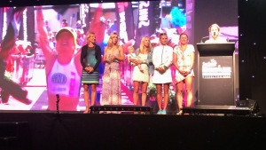 Top 6 female finishers at Ironman Western Australia, 2014...plus Wynne