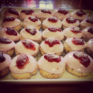 My gluten-free Iced Vovos...presentation was a fail but I am assured they tasted amazing!
