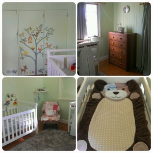 The Dude or Dudette's room, finally ready to go.